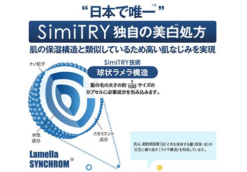 シミトリー公式サイトのラメラ構造の画像