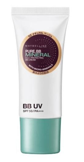 メイベリン ピュアミネラルBBクリーム UV