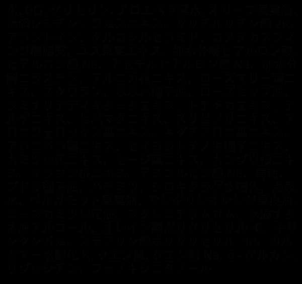 ボタニカルオールインワンジェルの成分
